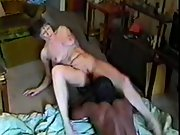 Mature slut spreading her goodies while letting a BBC inside